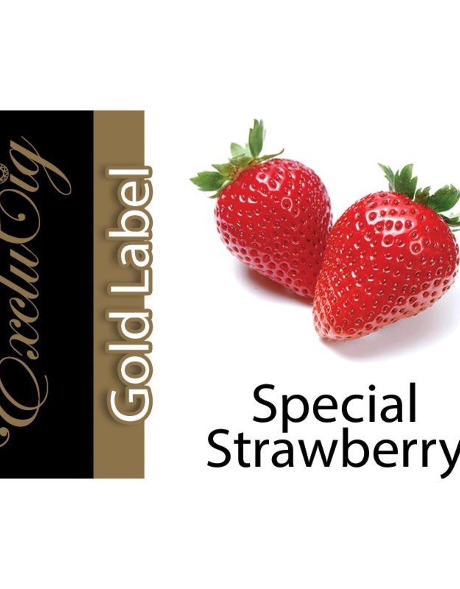 Exclucig Exclucig Gold Label E-liquid Special Strawberry 6 mg Nicotine