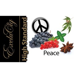 Exclucig Exclucig High Standard E-liquid Peace 0 mg Nicotine