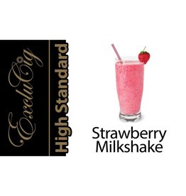 Exclucig Exclucig High Standard E-liquid Strawberry Milkshake 0 mg Nicotine
