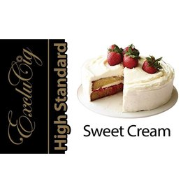 Exclucig Exclucig High Standard E-liquid Sweet Cream 0 mg Nicotine