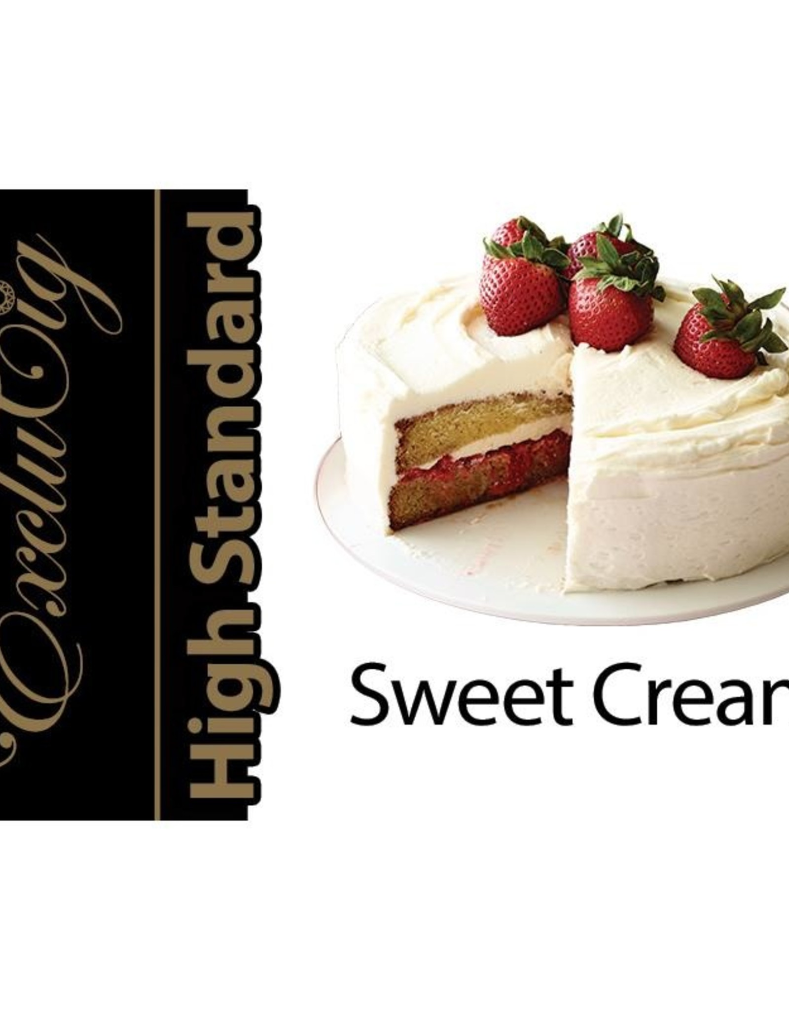 Exclucig Exclucig High Standard E-liquid Sweet Cream 6 mg Nicotine