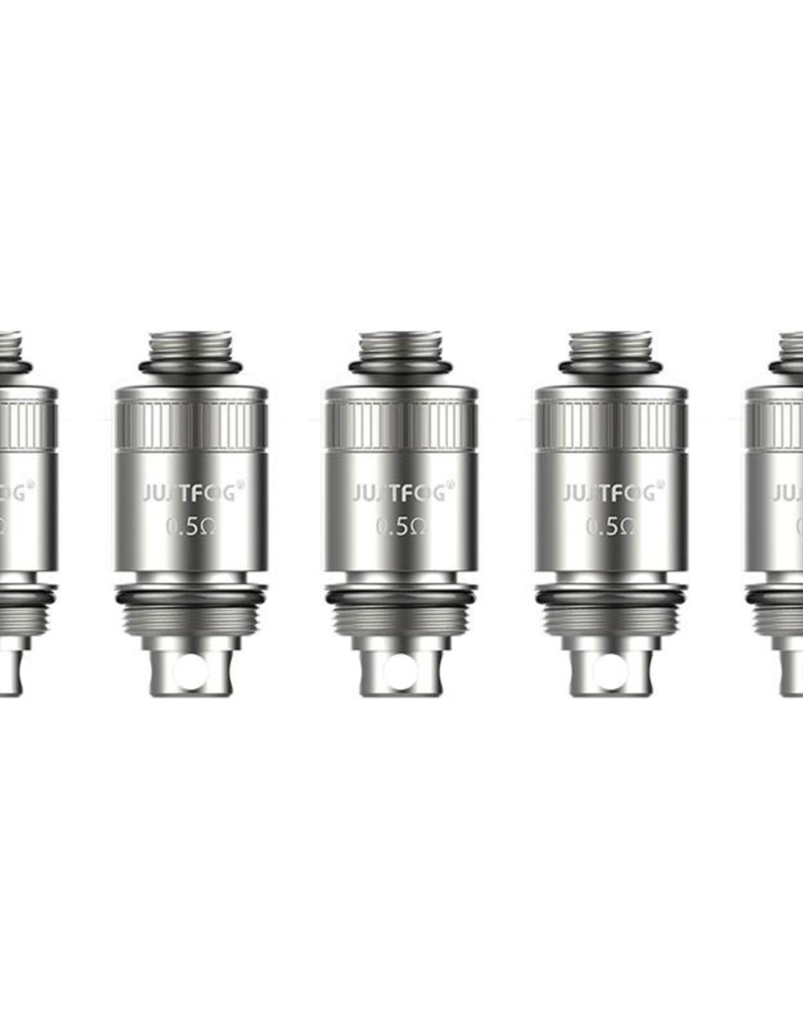 Justfog Justfog Cylinder Coil 0,5 Ohm DL 5 stuks