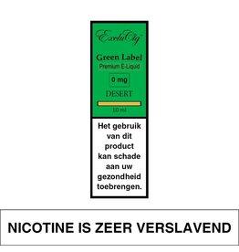 Exclucig Exclucig Green Label E-liquid Desert 0 mg Nicotine