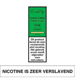 Exclucig Exclucig Green Label E-liquid Desert 12 mg Nicotine