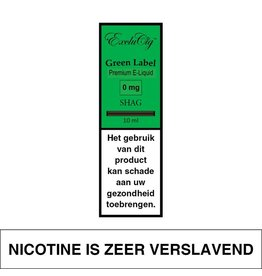 Exclucig Exclucig Green Label E-liquid Shag 0 mg Nicotine