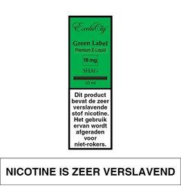 Exclucig Exclucig Green Label E-liquid Shag 18 mg Nicotine