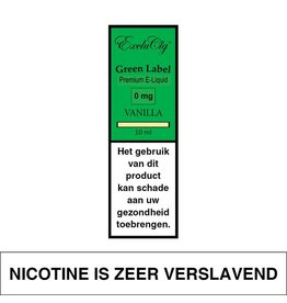 Exclucig Exclucig Green Label E-liquid Vanilla 0 mg Nicotine