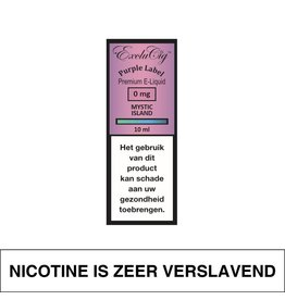 Exclucig Exclucig Purple Label E-Liquid Mystic Island 0 mg Nicotine