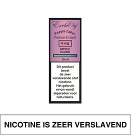 Exclucig Exclucig Purple Label E-Liquid Mystic Island 6 mg Nicotine