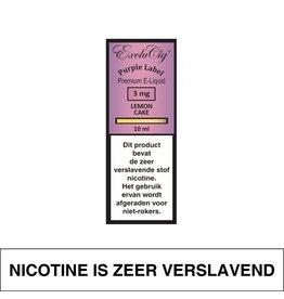 Exclucig Exclucig Purple Label E-Liquid Lemon Cake 3 mg Nicotine