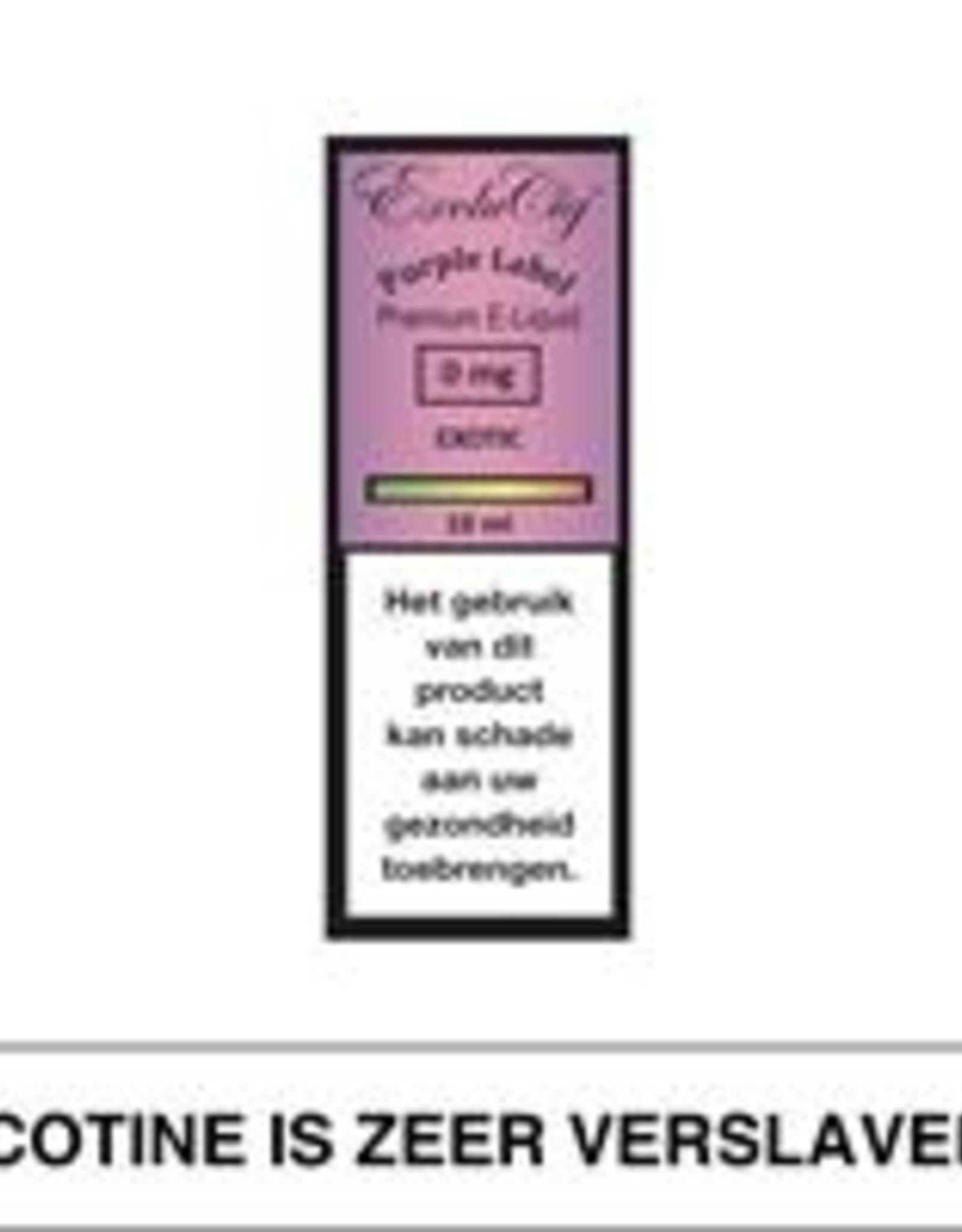 Exclucig Exclucig Purple Label E-Liquid Exotic 0 mg Nicotine