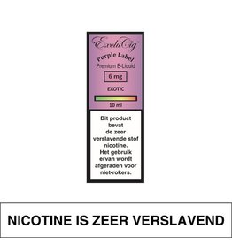 Exclucig Exclucig Purple Label E-Liquid Exotic 6 mg Nicotine