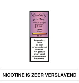 Exclucig Exclucig Purple Label E-Liquid Sweet Sour 3 mg Nicotine