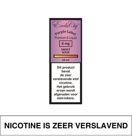 Exclucig Exclucig Purple Label E-Liquid Sweet Sour 6 mg Nicotine
