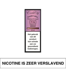 Exclucig Exclucig Purple Label E-Liquid Tobacco Heaven 0 mg Nicotine