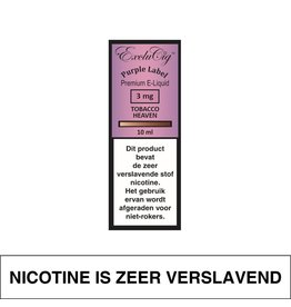 Exclucig Exclucig Purple Label E-Liquid Tobacco Heaven 3 mg Nicotine