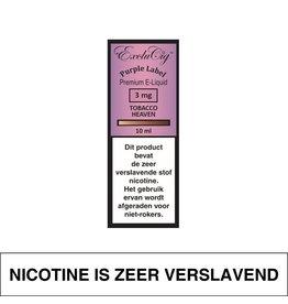 Exclucig Exclucig Purple Label E-Liquid Tobacco Heaven 3 mg Nicotine
