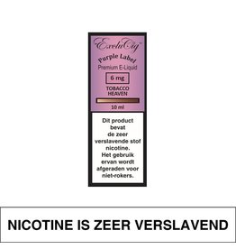 Exclucig Exclucig Purple Label E-Liquid Tobacco Heaven 6 mg Nicotine