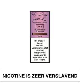 Exclucig Exclucig Purple Label E-Liquid Old School Tobacco 3 mg Nicotine