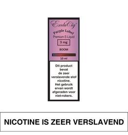 Exclucig Exclucig Purple Label E-Liquid Boom 3 mg Nicotine