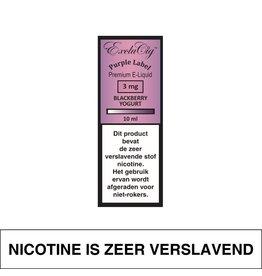 Exclucig Exclucig Purple Label E-Liquid Blackberry Yoghurt 3 mg Nicotine