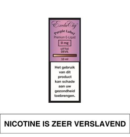 Exclucig Exclucig Purple Label E-Liquid Little Devil 0 mg Nicotine