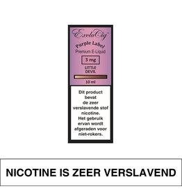 Exclucig Exclucig Purple Label E-Liquid Little Devil 3 mg Nicotine