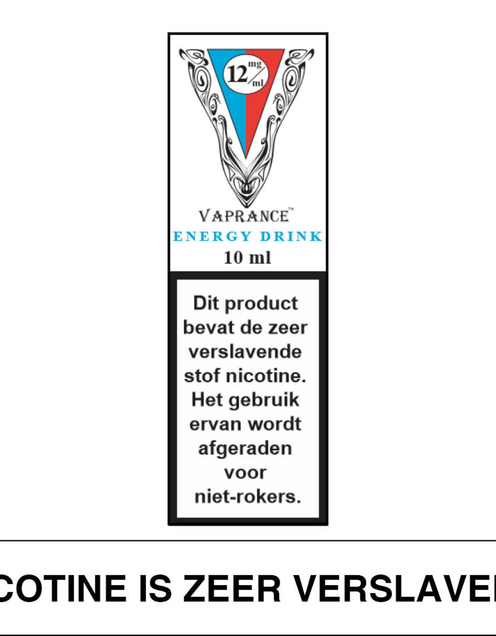 Vaprance Vaprance White Label Energy Drink 18 mg Nicotine