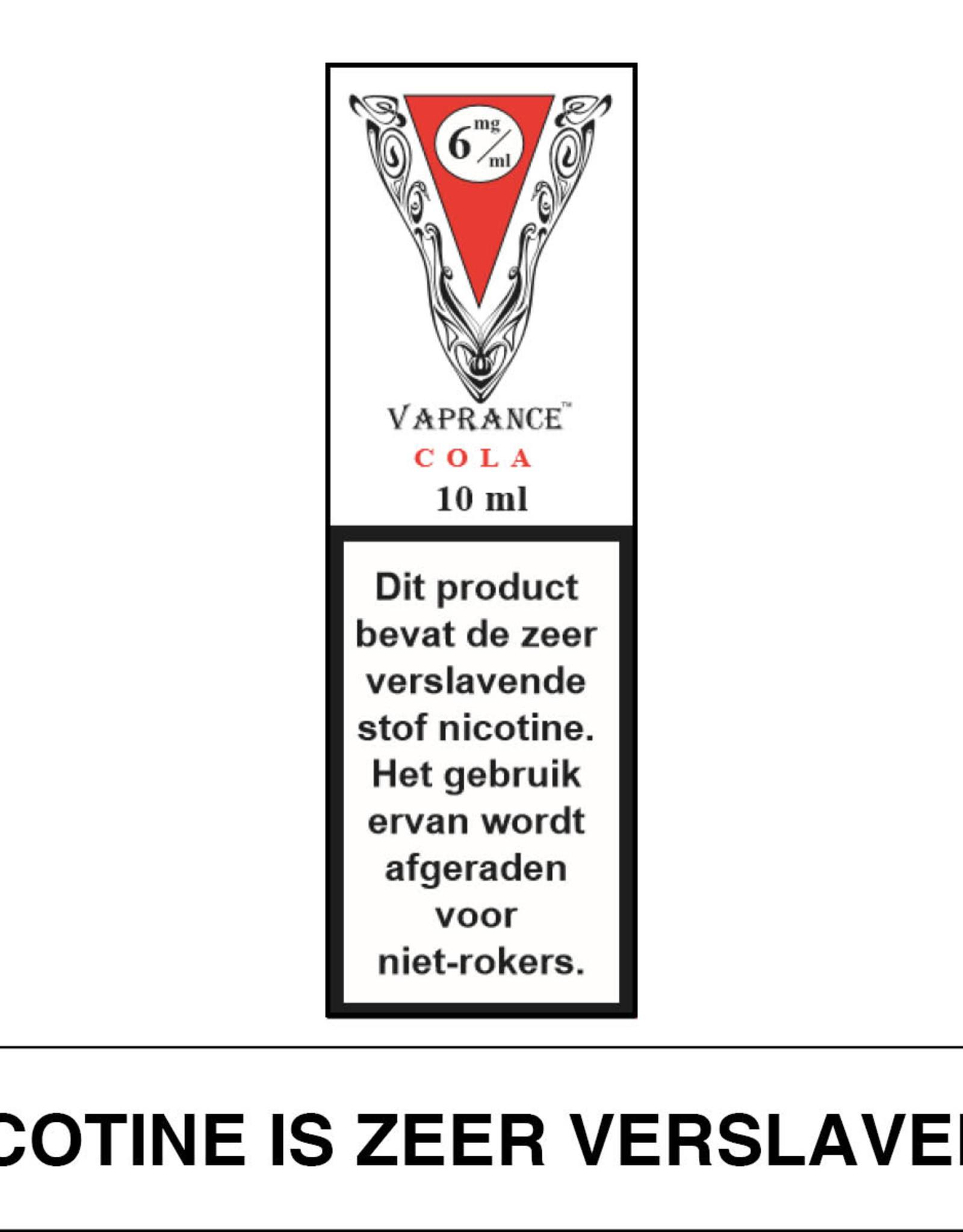 Vaprance Vaprance White Label Cola 6 mg Nicotine