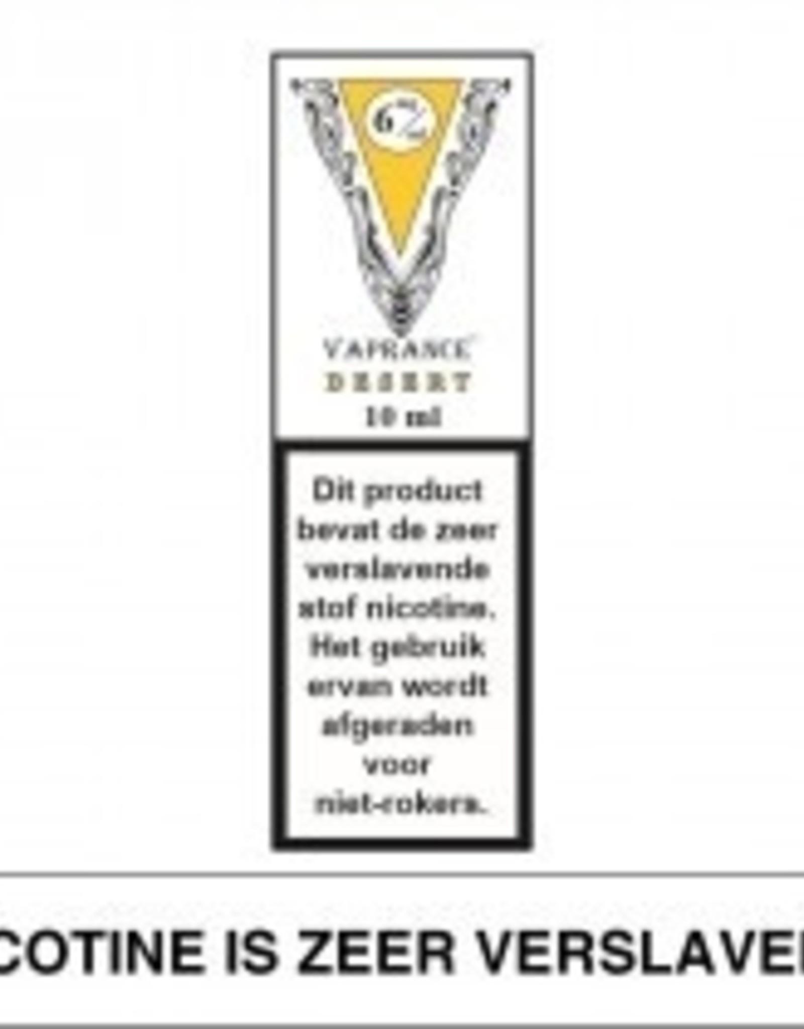 Vaprance Vaprance White Label Desert 6 mg Nicotine