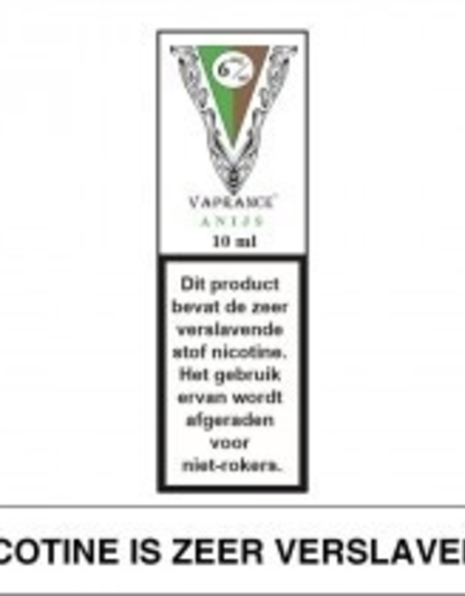 Vaprance Vaprance White Label Anijs 6 mg Nicotine