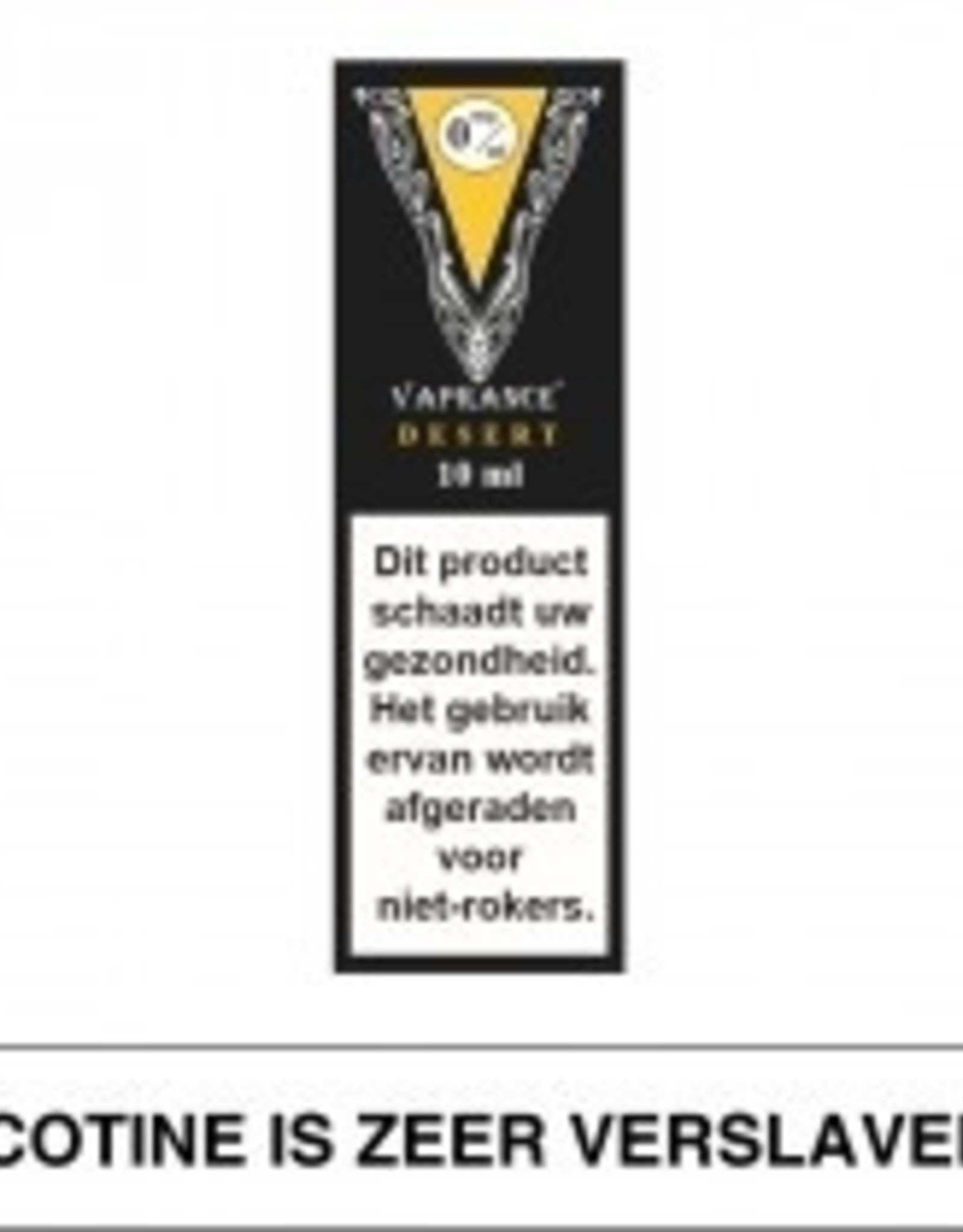 Vaprance Vaprance Black Label Desert 0 mg Nicotine