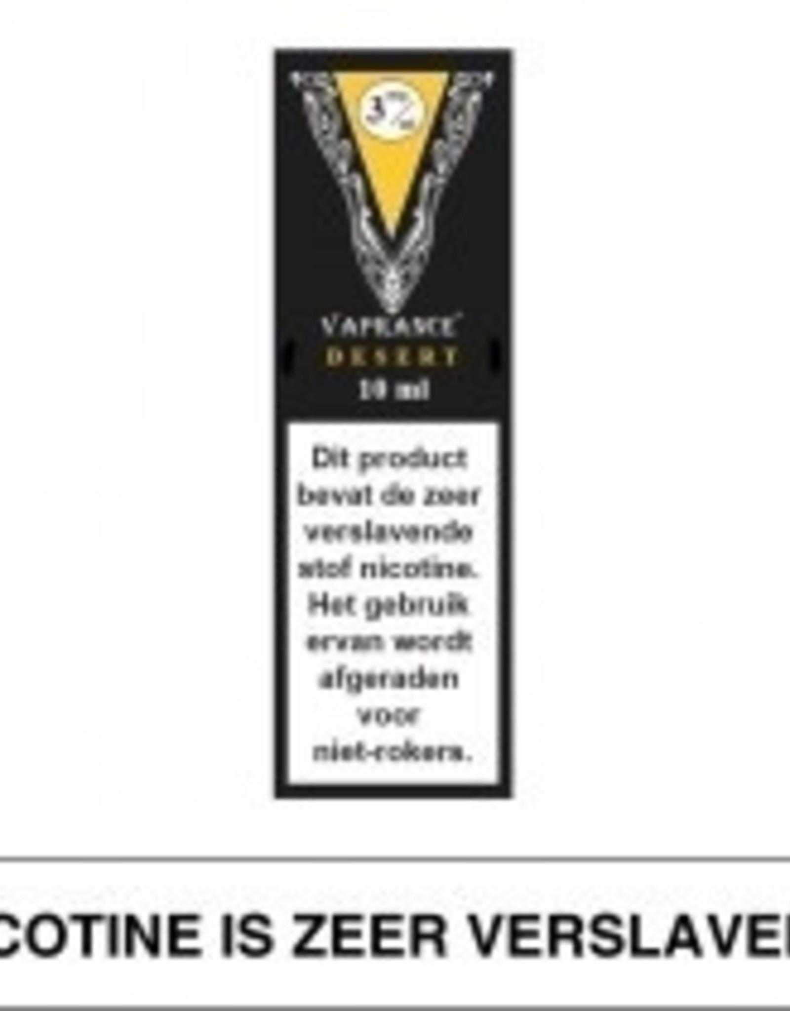 Vaprance Vaprance Black Label Desert 3 mg Nicotine