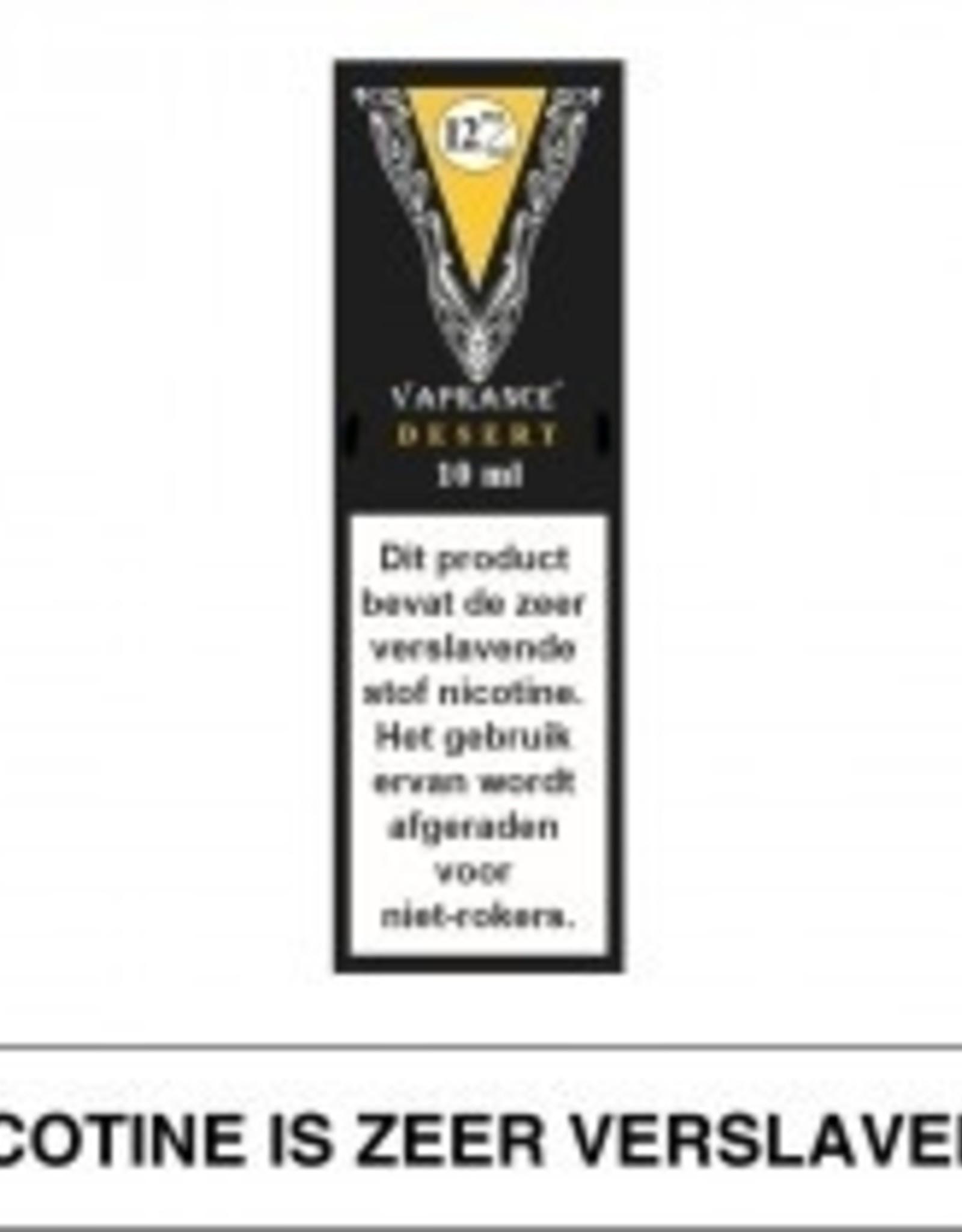 Vaprance Vaprance Black Label Desert 12 mg Nicotine