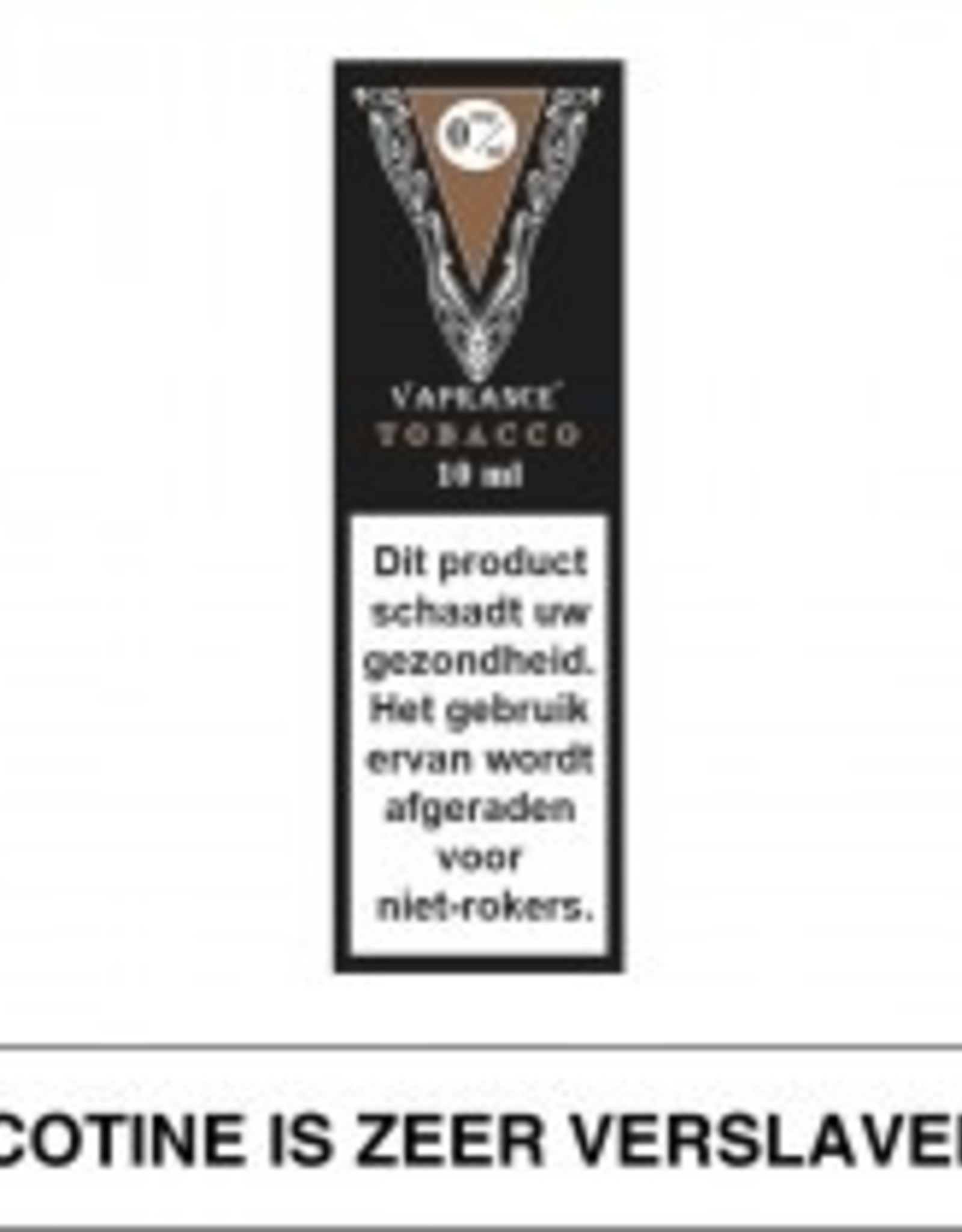 Vaprance Vaprance Black Label Tobacco 0 mg Nicotine