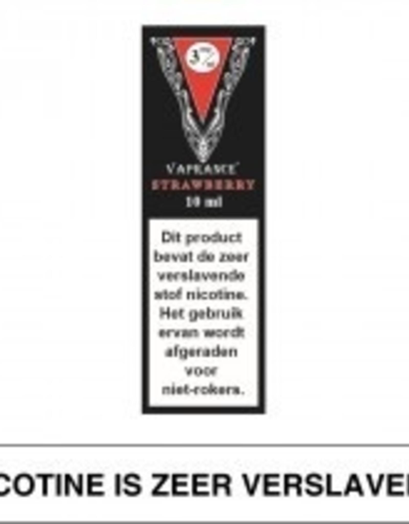 Vaprance Vaprance Black Label Strawberry 3 mg Nicotine