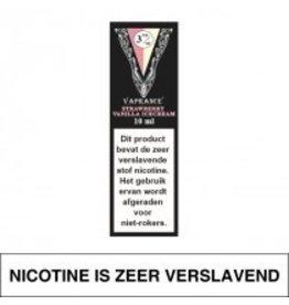 Vaprance Vaprance Black Label Strawberry Vanilla Icecream 3 mg Nicotine