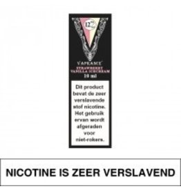 Vaprance Vaprance Black Label Strawberry Vanilla Icecream 12 mg Nicotine