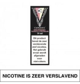 Vaprance Vaprance Black Label Strawberry Vanilla Icecream 18 mg Nicotine
