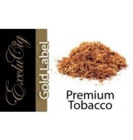 Exclucig Exclucig Gold Label E-liquid Premium Tobacco 0 mg Nicotine