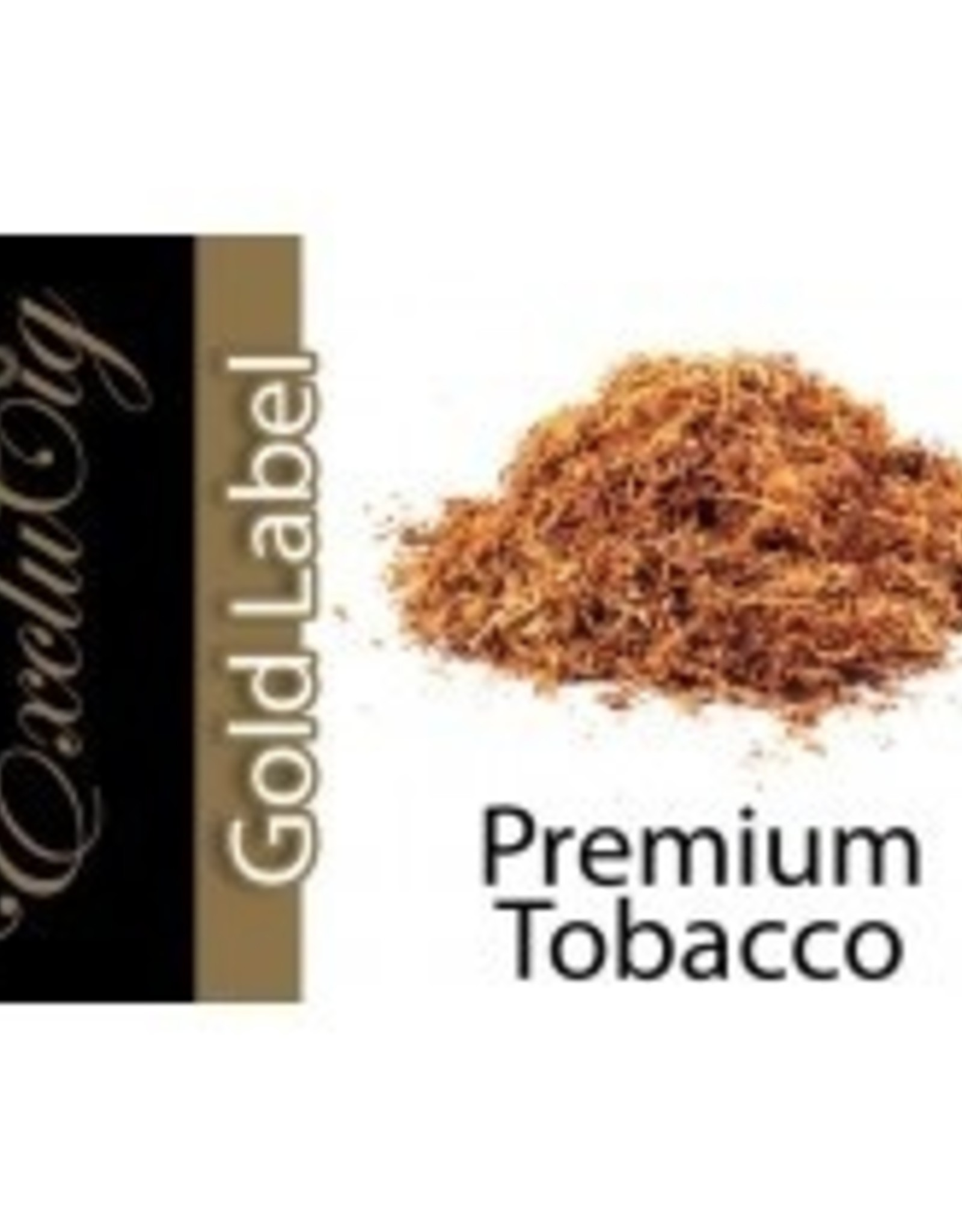 Exclucig Exclucig Gold Label E-liquid Premium Tobacco 18 mg Nicotine