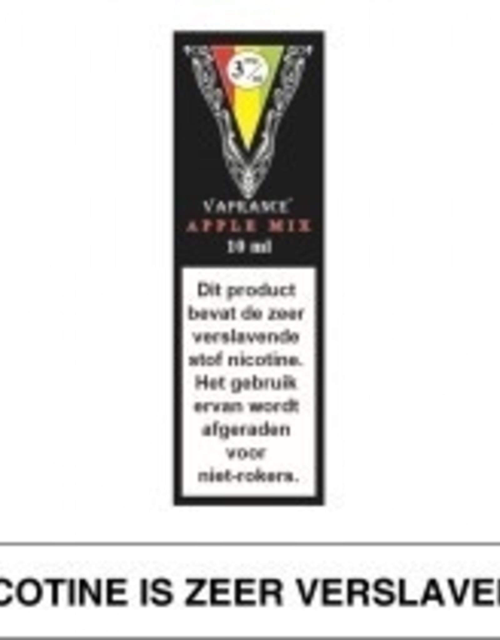 Vaprance Vaprance Black Label Apple Mix 3 mg Nicotine