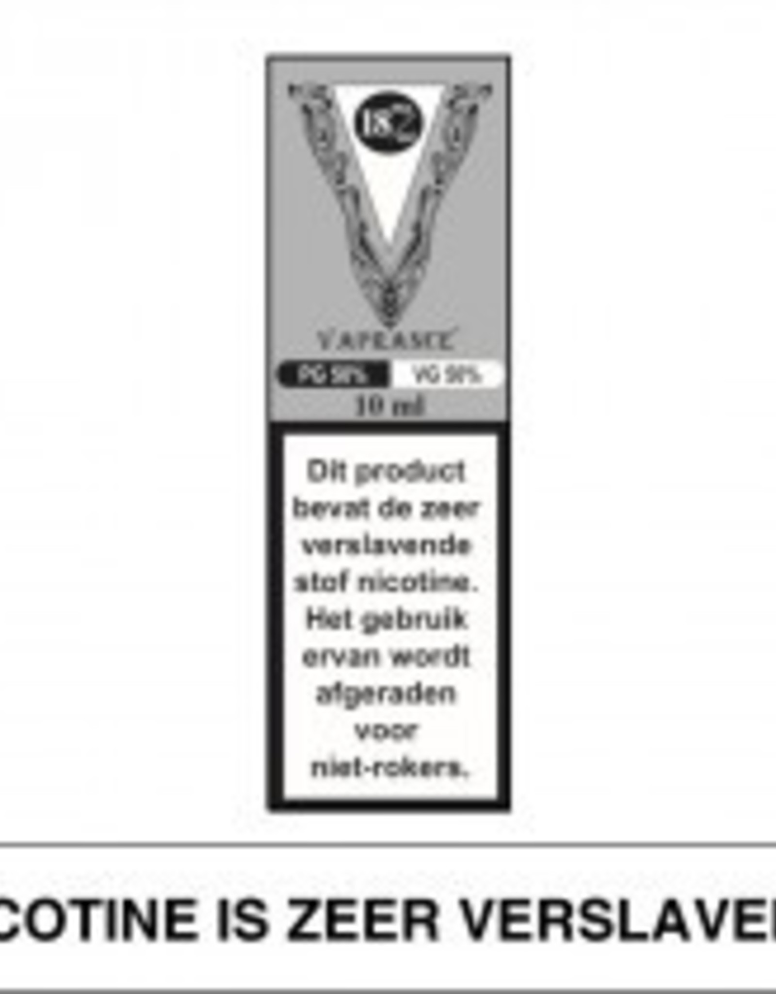 Vaprance Vaprance Base Label PG-VG 50-50 18 mg Nicotine