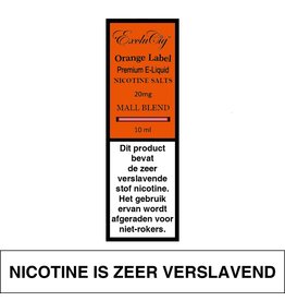 Exclucig Exclucig Orange Label E-liquid Mall Blend 20 mg Nicotinezout