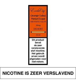 Exclucig Exclucig Orange Label E-liquid Desert 10 mg Nicotinezout