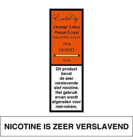 Exclucig Exclucig Orange Label E-liquid Desert 20 mg Nicotinezout