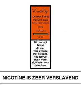 Exclucig Exclucig Orange Label E-liquid Vanilla 10 mg Nicotinezout