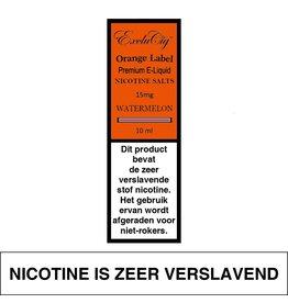 Exclucig Exclucig Orange Label E-liquid Watermelon 15 mg Nicotinezout