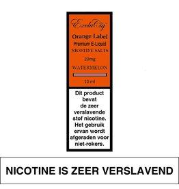 Exclucig Exclucig Orange Label E-liquid Watermelon 20 mg Nicotinezout
