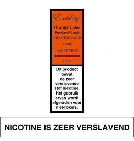 Exclucig Exclucig Orange Label E-liquid Raspberry 15 mg Nicotinezout